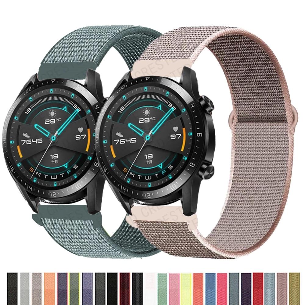 18mm 20mm 22mm alça de pulso de náilon para garmin vivoactive4s vivoavtive 4S pulseiras de relógio inteligente para vivoactive 4 3 active correa