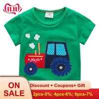 2019 novos meninos camiseta crianças roupas de crianças roupas de crianças roupas dinossauro tshirts traje roupas infantis menino bebê