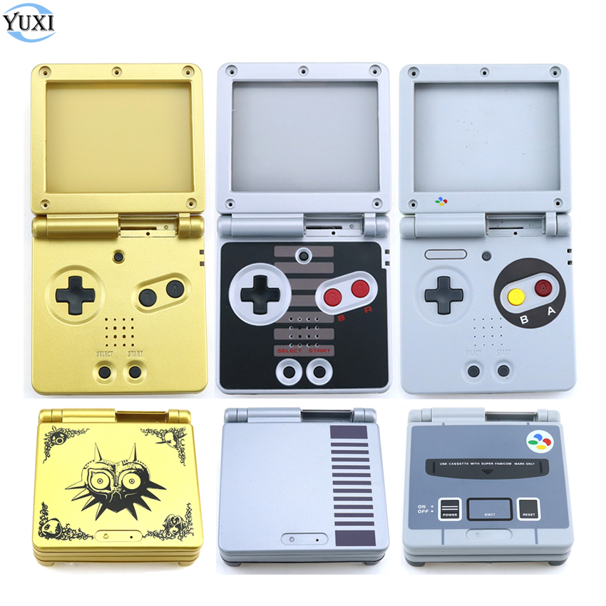 YuXi For GameBoy Advance SP Classic NES Limited Edition Housing Shell For GBA SP Full Housing Case Replacement Parts