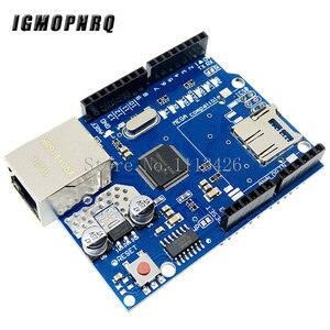 Image 4 - Mega 2560 r3 for arduino kit + HC SR04 +breadboard cable + relay module+ W5100 UNO shield + LCD 1602 Keypad shield