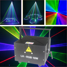 Moving Beam laser Light Compacted Size Disco Dj Dmx Spot Lamp Gobo Strobe Laser Show Party(China)