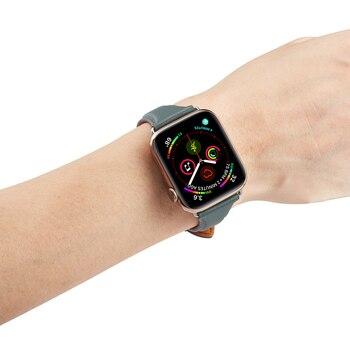 Ремешок из натуральной кожи для Apple Watch 38-42 мм 5