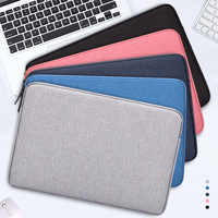 """Водонепроницаемый чехол для ноутбука, чехол для ноутбука Macbook retina Pro 13,3 """", Чехол для lenovo 11 12 13 14 15 15,6 дюймов, сумка на молнии"""