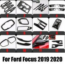 Accesorios de estilo de coche especial externo Interior adhesivo decorativo Trim caso para Ford Focus 4 mk4 sedán Hatchback 2019-2020
