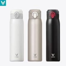 VIOMI 460ml 열 컵 차가운 유지 컵 진공 플라스크 열 물 찻잔 보온병 절연 스테인레스 스틸 여행 컵
