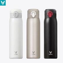VIOMI tasse isotherme en acier inoxydable, 460ml, contenant isolant sous vide, gobelet isotherme pour garder au frais, pour les voyages