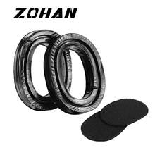 ZOHAN One Pair Silica Gel Ear Pads for 3M Peltor Earmuffs ZOHAN Replacement Ear Cushion Kit for Ear Defenders Protection