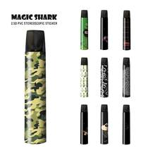 Magic Shark Crayon Shinchan Batman Wonder Woman Frog 2.5D PVC Vape Kit Pod Sticker for Relx Cover Film Case for Relx(China)