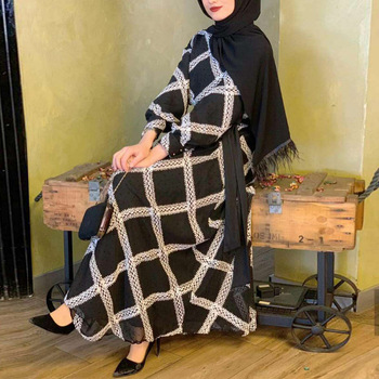 Vestidos Kaftan Dubai Abaya Turkey Muslim Fashion Hijab Dress Islam Clothing Abayas Maxi Dresses For