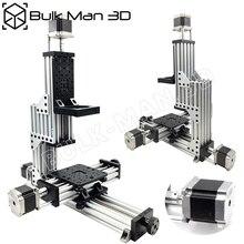 MiniMill CNC Machine Mechanical Kit 3 Axis Desktop MiniMill CNC Kit with 175 oz*in Nema 23 stepper motors