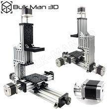 MiniMill maszyny CNC zestaw mechaniczny 3 osi pulpit MiniMill zestaw CNC z 175 oz * w Nema 23 silniki krokowe
