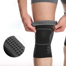 1 Pcs Practical Silicon Knee Pad Spring Protector Gym Fitness Brace Support Volleyball Basketball