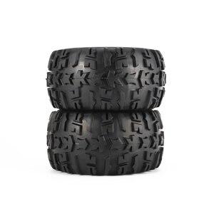 Image 5 - 4Pcs Felge und Reifen 150mm für 1/8 Monster Truck Traxxas HSP HPI E MAXX Savage Flux Racing RC auto Modell Spielzeug