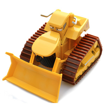 Disney Pixar Racing 2 3 Car Rhapsody Matador bulldozer alloy die-casting toy car model childrens genuine gift
