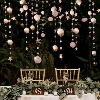 Merry Christmas 4M Twinkle Star Paper Garland Hanging Navidad Ornaments Xmas Decorations for Home Noel Natal New Year Supplies merry christmas decorations for home christmas 2020 ornaments navidad noel xmas natal deco new year 2021 gift kerst decoratie