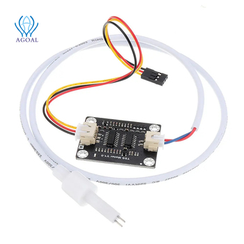 Analog TDS Sensor TDS Meter Water Conductivity Sensor Tester Liquid Detection Water Quality Monitoring DIY with 2 cables