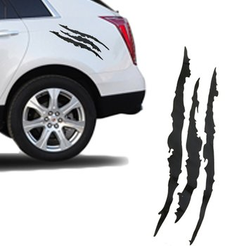 Car Stickers Beast Claw Paw Prints Scratch Marks Reflective Decals For Door Waterproof Auto Tuning Styling Sticker HOT image