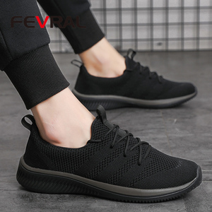 Image 5 - FEVRAL גברים נעליים יומיומיות מפורסם נוח סניקרס 2021 קיץ סתיו מאמני זכר לנשימה קל משקל נעלי גודל 39 44
