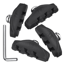 цена на 2 Pairs Road Brake Pads,C brake pads with Installation Tool Caliper Brake Blocks 50 mm