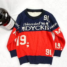 2019 Girls/Boys Sweaters Autumn New Knitted Kids Sweaters Clothing Girls Pullover Stripe Tops Cotton Sweater For Girl