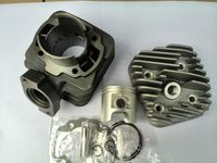 motorcycle cylinder head kit for PEUGEOT BUXY50 changed 70CC 47MM cylinder assembly