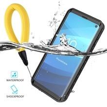 Su geçirmez kılıf Samsung Galaxy S10 artı S10 5G kar geçirmez tam kapak Samsung S20 not 10 artı darbeye dayanıklı sualtı kılıf
