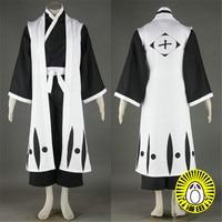 Tailored size Anime BLEACH Cosplay Hitsugaya Toushirou Cos Halloween Party High Quality Uniform Set For Men/Women Costume