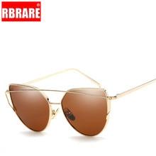 RBRARE 2019 Metal Frame Cat Eye Sunglasses For Women Trend Wpmens Spectacles Sun Shade Eyeglasses Shopping Oculo De Sol Feminino
