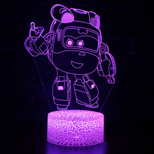 Novelty Lamps for Children 3D Night Light Lighting Bedroom Lights Decoration Led Lamp Small Mood Fancy Children's Cute Products