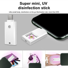 USB ULTRAVIOLET Disinfection Lamp For Mobile Phone Q105 Mobile Phone USB 1W Disinfection Lamp Exquisite Compact Plug And Play