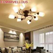 купить Lustre Candeeiro For Living Room Lamp Lampen Modern Home Lighting Lampara Techo Plafonnier Luminaria De Teto LED Ceiling Light по цене 7184.62 рублей