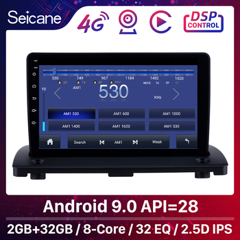 Seicane Android 9.1 9 Car Radio GPS Navi Multimedia Player For Volvo XC90 2004 2005 2006 2007 2008-2014 2Din Head unit Stereo image