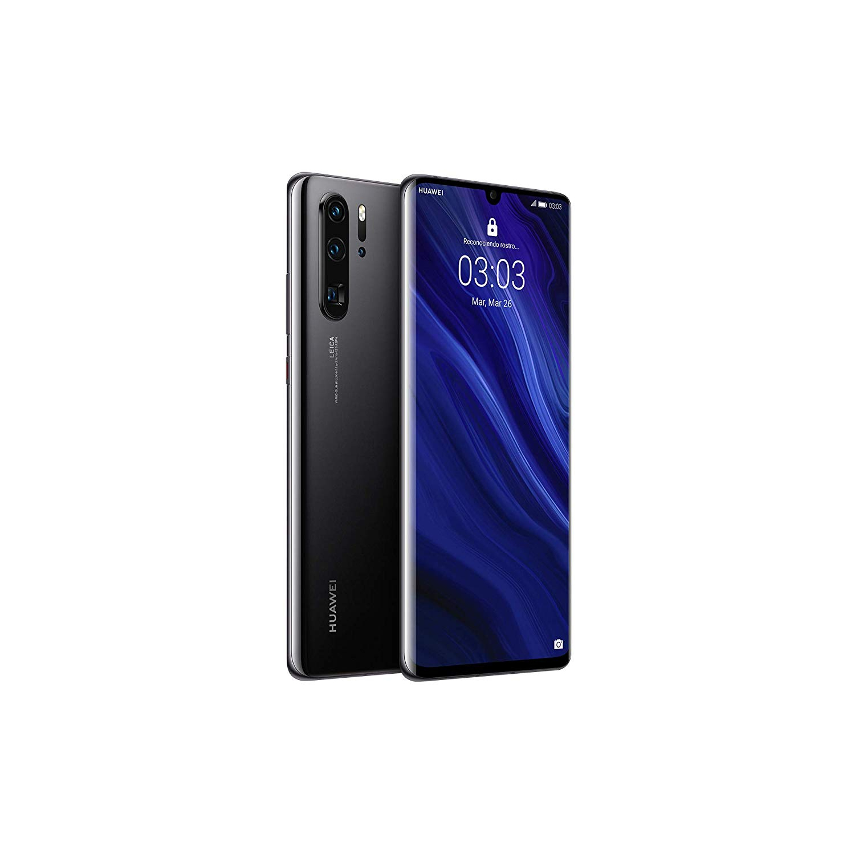 Huawei P30 Pro, couleur noire (noir), double SIM, 12 8GB Memoria interne, 8GB RAM, écran 6.47