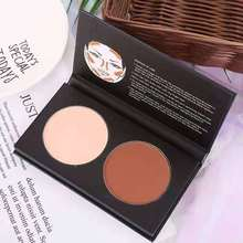 Pressed Powder Face Contour  Anti-wrinkle Pressed Powder Compact  Brightening Bronzing Powder  Natural  Powder Palette Concealer цена