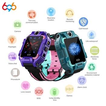 696 Y99 Children Smart Watch 4G Kids GPS Position Video Call Bracelet Sports Waterproof Passometer Tracker Boy Girl Smartwatch M