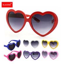 1PC Brand Designer Vintage Sunglass Fashion Love Heart Sunglasses Women cute sexy retro Cat Eye Vintage Sunglasses Hot Trendy