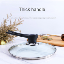 4 Style Kitchen Cookware Pot Pan Lid Hand Handle With Stand Cover Pan Lid Handle Kitchen Lid Handle 2020 New Handle For The Lid pan polaris grafitech 24c kitchen pans cookware pan with lid