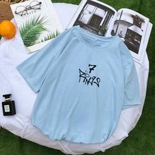 Ariana Grande Seven Rings Girl Power T Shirt Women Summer Sh