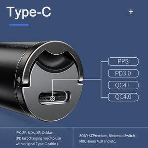 Image 4 - Автомобильное зарядное устройство Baseus для iPhone 11 Pro Max Huawei P30 QC4.0 QC3.0 QC 5A
