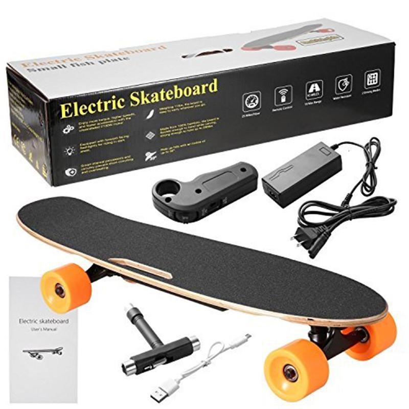 Ship from USA Europe Four Wheel Electric Skateboard Wireless Remote controller Scooter Plate Board hoverboard unicycle (8)