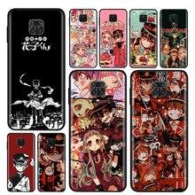 Capa de silicone anime hanako kun yugi para xiaomi redmi nota 10 10s 9 9c 9s pro max 9t 8 7 6 5 pro 5a 4x 4 caso de telefone
