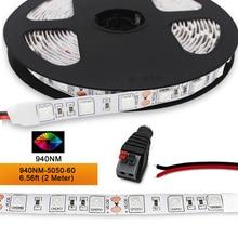 DC12V SMD5050 LED Strip Infrared light 850NM 940NM