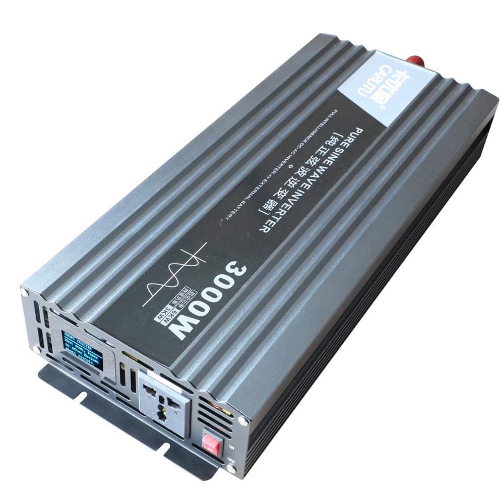 Beste <font><b>inverter</b></font> <font><b>12v</b></font> 220v 3000w reine sinus welle <font><b>inverter</b></font> sustain power 3000W mit ideal fehler fordert display <font><b>12V</b></font> zu 220V <font><b>230V</b></font> image