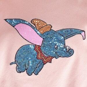 Image 2 - Herbst Winter Kinder Pullover Cartoon Pailletten Pullover Pullover Für Mädchen Weiche Kinder Gestrickte Pullover Baby Mädchen Pullover 3 7 Y