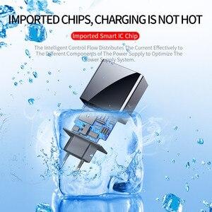 Image 5 - 3 Port USB Handy ladegerät Led anzeige EU Stecker Insgesamt Max 3A Smart Schnelle Ladegerät Mobilen Wand Ladegerät für iPhone 12 Pro iPad Samsung