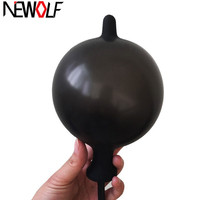 Silicone Sexy Inflatable Pump Anal Plug Anal Dilator Expander Butt Plug Tail Anus Masturbator Sex Toys For Adults Gay Men Q109