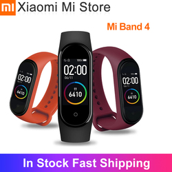 In Stock Xiaomi Mi Band 4 SmartBand MiBand 4 Bracelet Heart Rate Fitness tracker Bluetooth 5.0 50M Waterproof