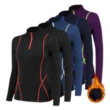 Sportswear Running-Jacket Fitness Training Sweatshirts Hooded Sport-Clothing Zipper Fleece