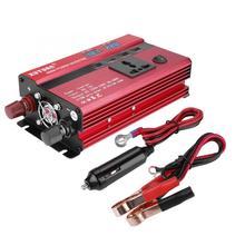 Горячая 1 комплект 350 Вт/600 Вт DC 12 В до 220 В AC автомобильный преобразователь инвертор светодиодный цифровой дисплей USB универсальный штекер автомобильные аксессуары
