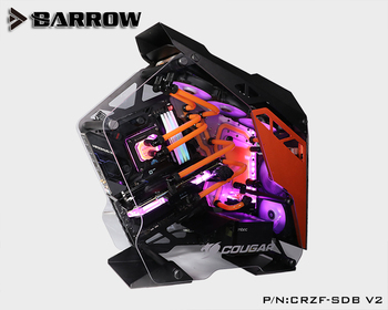 Barrow Acrylic Board Water Channel Solution kit use for COUGAR Conqueror Case / for CPU and GPU Block / Instead reservoir